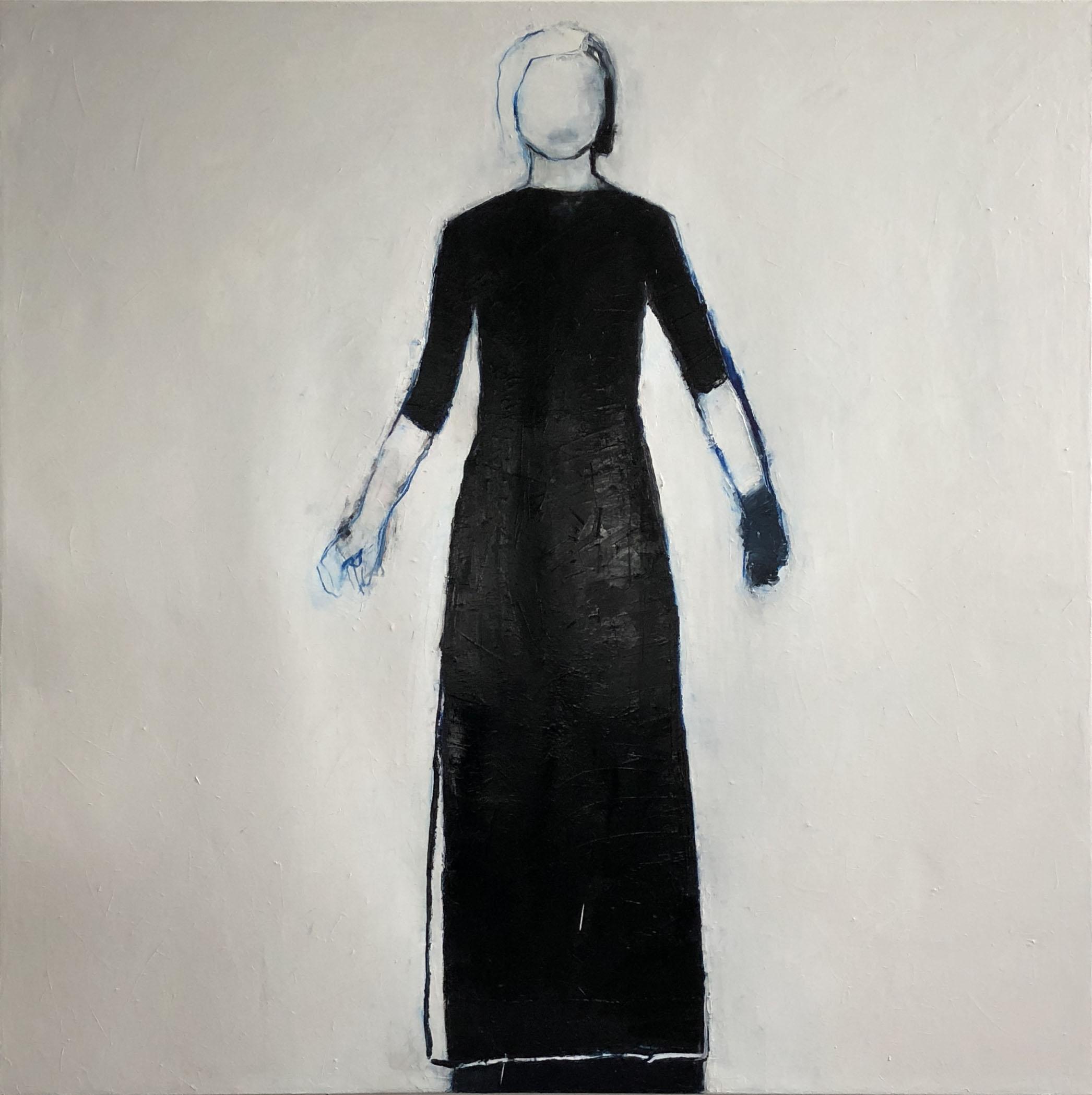 Linda Stojak Painting 2018 - 2020 Figure in dress